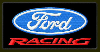 "FORD RACING EMBROIDERED PATCH ~5"" x 2-3/8"" FORMULA 1 BORDADO PARCHE AUFNÄHER"
