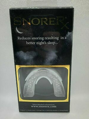 SnoreRX Reduces Snoring Resulting In A Better Night Sleep Brand New Ships Free