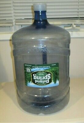 Poland Spring 5 Gallon Empty Plastic Water Jug With Handle Bpa Free