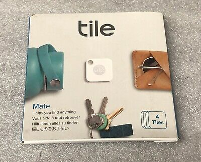 Tile Mate Tracker 4-pack  FREE SHIPPING