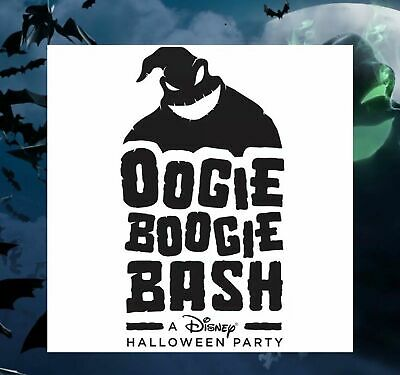 Disney Oogie Boogie Bash October 10th (sold out date)