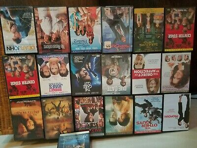 LOT OF 19 DVD MOVIES MOSTLY Comedy The Proposal, Lake House, Cable Guy, Due Date