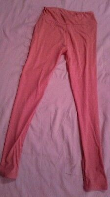 Lularoe Reddish  Leggings  Sz Tween Red