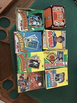 1000+ Cards! 1976- Present Day! Dads old Baseball Card Collection