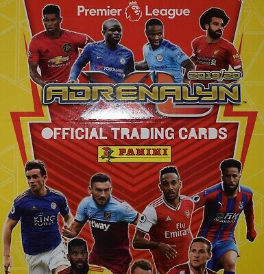 Panini Adrenalyn XL Premier League 2019/20 Full Set of 469 cards + 6 limited eds