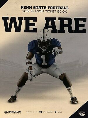 4 Penn State Football Tickets And Parking Pass Vs Rutgers Nov 30 2019 Senior Day