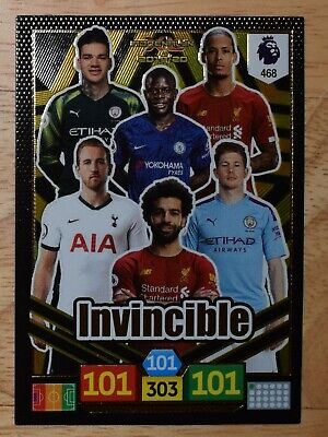 NEW Panini Adrenalyn Premier League 2019/20 rare Invincible card # 468