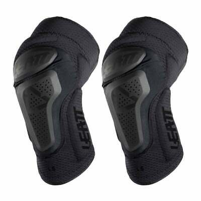 Leatt 3df 6.0 Mx Motocross And Enduro Mens Body Armour Knee Pads - Black