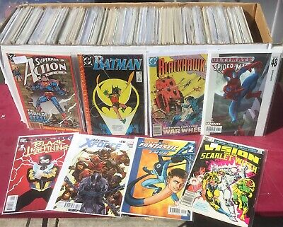 Huge Lot Of 250 comics , all are DC and Marvel comics only . Awesome Collection