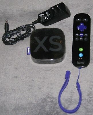 Roku 2 XS 1080p ~ Streaming Media Player Model 3100X, Power Adapter & Remote~GC
