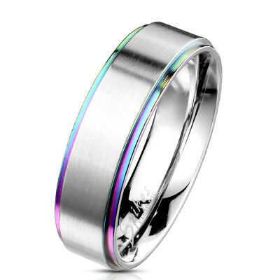 Tapsi ´S ´S coolbodyart Finger Ring Band Stainless Steel 10685.2oz Silver, Abgef