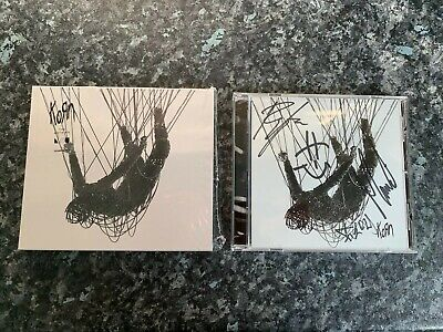 KORN HAND SIGNED AUTOGRAPHED THE NOTHING CD SIGNED BY BAND NEW (See Notes)