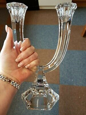 Nachtman double candle holder signed