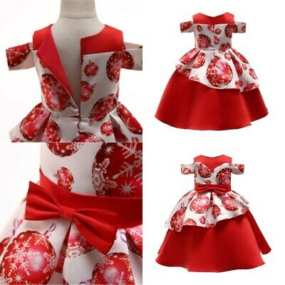 Princess kid dresses formal flower girl bridesmaid wedding party baby tutu dress