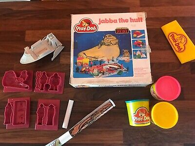 Star Wars Vintage 1983 Play Doh jabba The Hutt COMPLETE