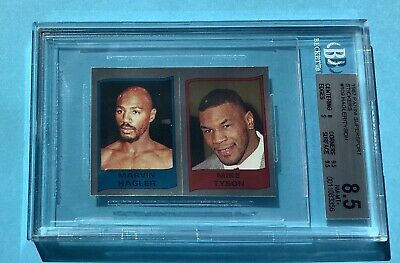 Mike Tyson ROOKIE Foil 1987 Panini Supersport Boxing BGS 8.5 - POP 1