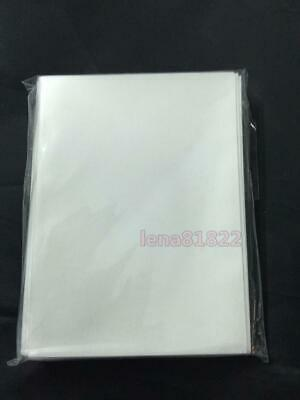 60pcs/Pack DECK PROTECTOR Card Sleeves 62mm*89mm White Color + Matte