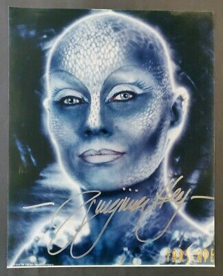 Virginia Hey Signed Photo - Farscape