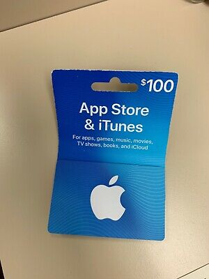 app store itunes gift card $100