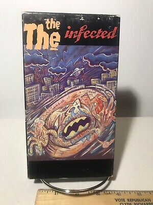 The Infected Vhs 1987 Cmv Cbs Music Video Enterprises Used