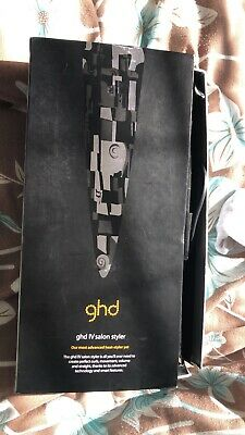 Ghd hair V gold straighteners max wide plate
