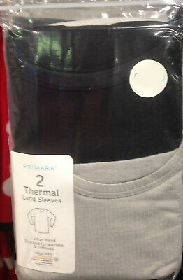 Children Thermal Longsleeve Tops 2pk BNWT Size 6-7 years to 12-13 years