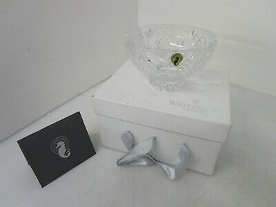 "Vintage Waterford Crystal ""The Wedding Heirloom Bowl"" 8"" Hearts Fruit Etched"