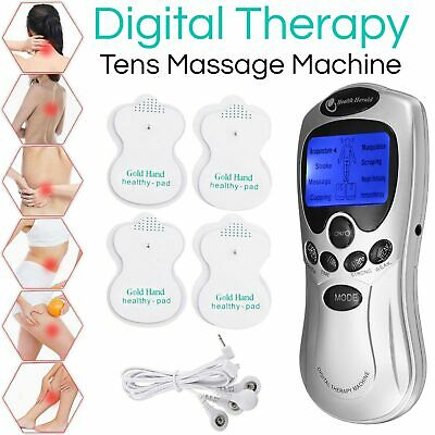 Tens Machine Pain Relief Digital Therapy Full Body Massager Acupuncture Back