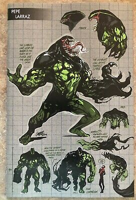 ABSOLUTE CARNAGE 3 (of 4) PEPE LARRAZ YOUNG GUNS VARIANT NM. 1st Symbiote Hulk
