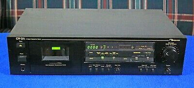 Nakamichi CR-2A Two-Head Cassette Deck