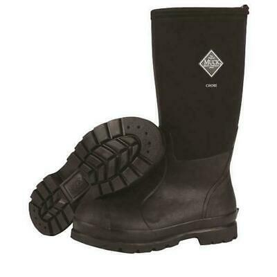 Muck Boot Chore Hi All-Conditions Work Boot Black CHH-000A