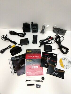 Pioneer GEX-INNO1 XM Portable Satellite Radio Receiver with Accessories Bundle