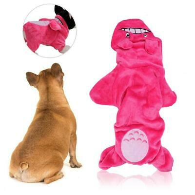 Coral Fleece Dog Jumpsuit Winter Dog Clothes Puppy Coat Pet Outfits Hoodie