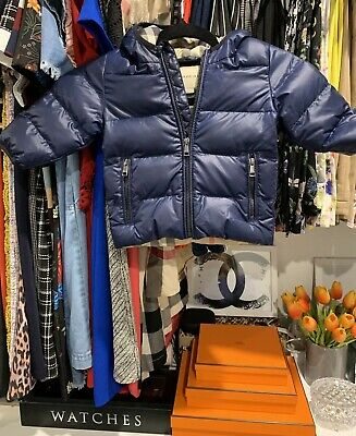 Authentic Burberry Baby Puffer Jacket 6M