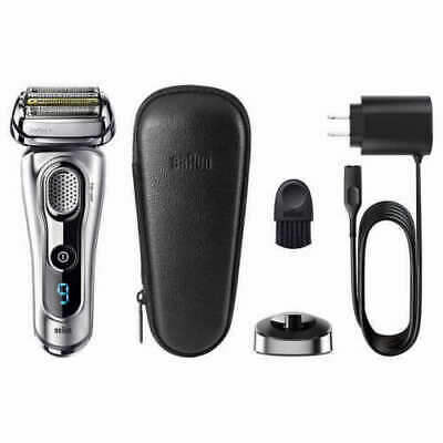 Braun Series 9 9260PS Electric Foil Shaver Wet & Dry With Leather Case & Charger