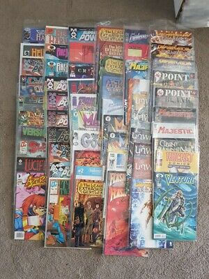 Lot Of 120 Independent Comics.  Unwritten. Wilscats. CSI Etc