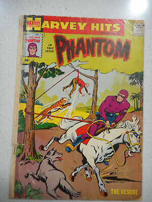 Harvey Hits The Phantom Comic Book #1, 1957