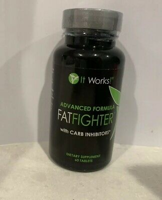 It works! Advanced Formula Fatfighter- 60 capsules- New