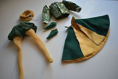 Vintage Mattel Barbie Ken doll The Prince Little Theatre Clothes lot