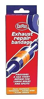 Carplan Car Exhaust Silencer Pipe Repair Epoxy Resin Bandage Holes Cracks Spilts