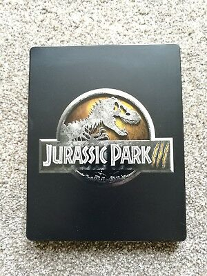Jurassic Park 3 (III) 4K UHD + Blu Ray + Digital Download Steelbook