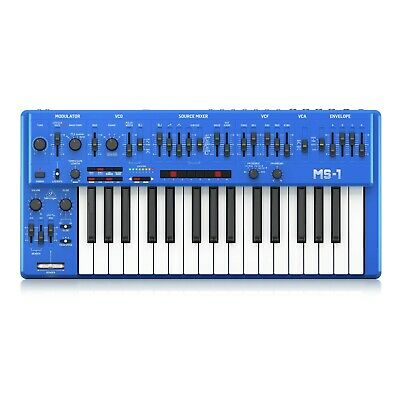 Behringer MS-101 Analog Synthesizer - Blue