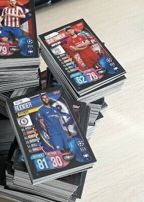 Match Attax 19/20 2019/2020 bundle Of 10 cards 1-252 -  Read Description First