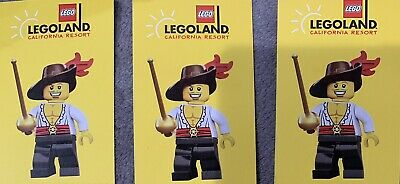 3 Tickets 1 Day Hopper Legoland California, Sealife Aquarium& Legoland Waterpark