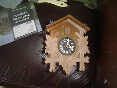 German Cuckoo Clock Spares Or Repair