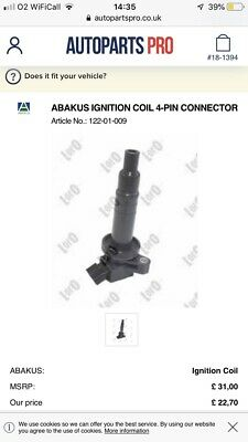 Abakus 4 Pin Ignition Coil