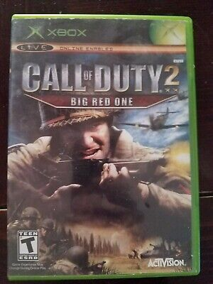 Call of Duty 2: Big Red One - Original Xbox Game Complete