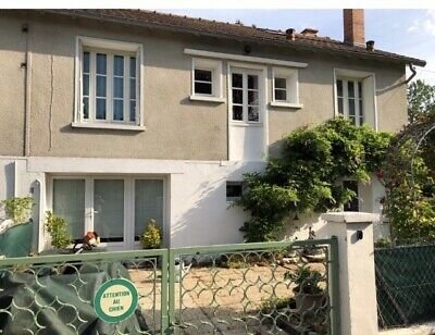 Four Bedroom House & Woodland-La Trimouille France-With Great Views/River Nearby