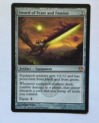 MTG Sword of Feast and Famine 1x NM