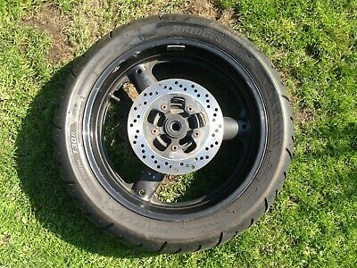 Suzuki Bandit Mk2 600 Complete Rear Wheel & Disc with Battlax Tyre